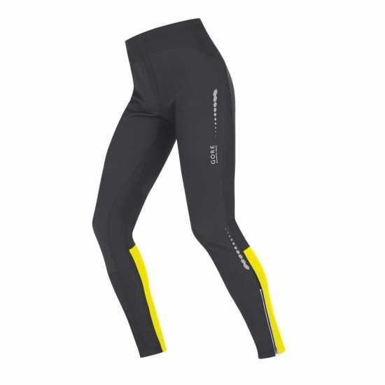 9985e3ef73d Gore Мъжки Клин Mythos So Tights Mens Black/Yellow Мъжки дрехи за бягане