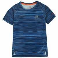 Karrimor Тениска Момчета X Race T Shirt Junior Boys Blue AOP Детски тениски и фланелки