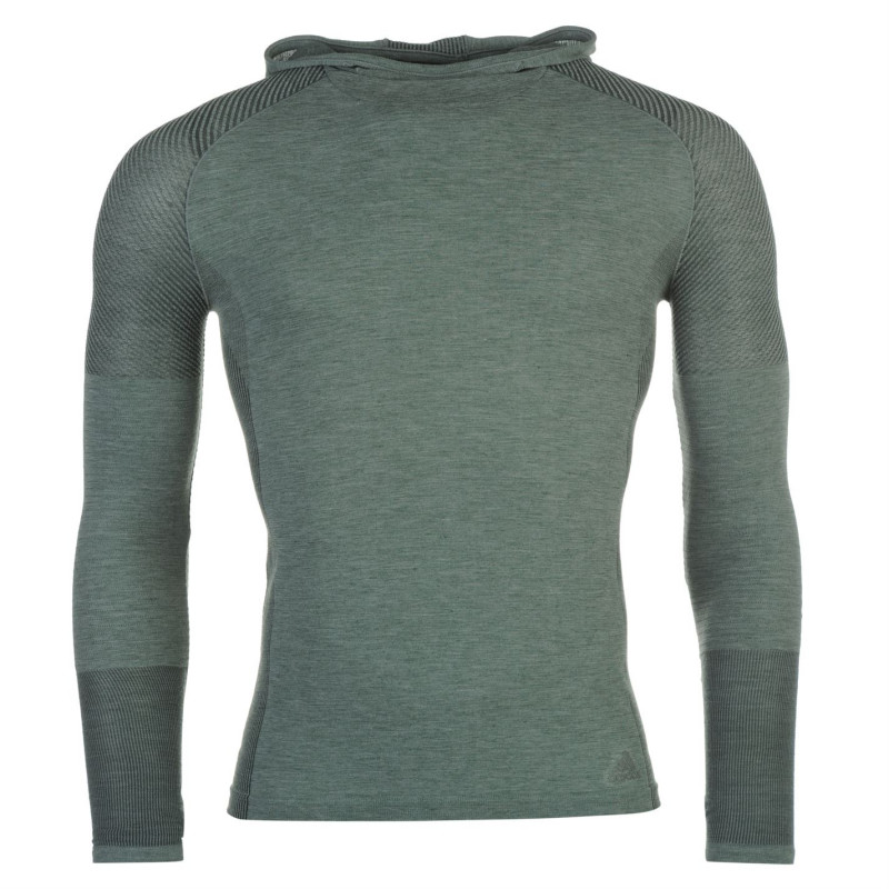 772d13f0dab Adidas Дамски Суитшърт Primeknit Hoody Ladies Utility Ivy Дамски тениски и  фланелки