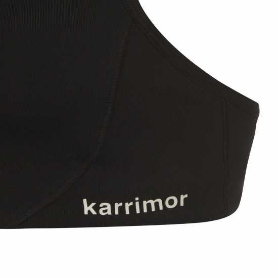 Karrimor Дамски Спортен Сутиен Tempo Sports Bra Ladies Black Спортни сутиени