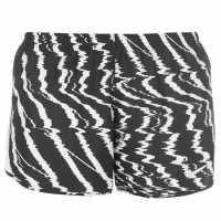 Nike Dry Gr Short Ld73 Black/White Дамски клинове за фитнес