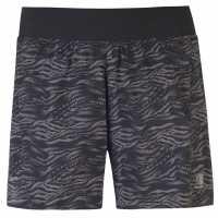Karrimor Дамски Шорти 3 In Shorts Ladies Black AOP Дамски клинове за фитнес