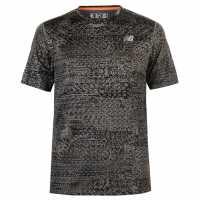 New Balance Мъжка Тениска Accelerate T Shirt Mens Military Shatte Мъжки тениски и фланелки