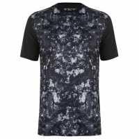 New Balance Мъжка Тениска Accelerate T Shirt Mens Black/Arctic Ca Мъжки тениски и фланелки