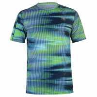 New Balance Мъжка Тениска Accelerate T Shirt Mens Bolt Stripe Мъжки тениски и фланелки