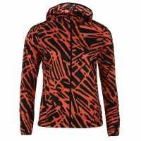 Nike Дамско Яке За Бягане Palm Running Jacket Ladies Crimson/Black Дамски якета и палта