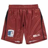 Blk Barrow Afc Home Shorts Childrens Maroon/Red Детски къси панталони