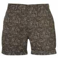 Pierre Cardin Мъжки Шорти Aztec Shorts Mens Khaki Мъжки панталони чино