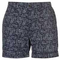 Pierre Cardin Мъжки Шорти Aztec Shorts Mens Navy Мъжки панталони чино