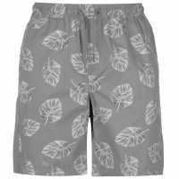 Pierre Cardin Мъжки Шорти Aop Dock Shorts Mens Grey Palm Мъжки панталони чино