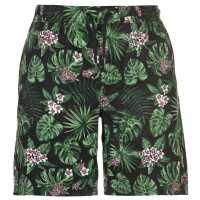 Pierre Cardin Мъжки Шорти Aop Dock Shorts Mens Black Tropical Мъжки панталони чино
