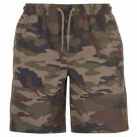 Pierre Cardin Мъжки Шорти Aop Dock Shorts Mens Khaki Camo Мъжки панталони чино