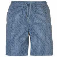 Pierre Cardin Мъжки Шорти Aop Dock Shorts Mens Navy Geo Мъжки панталони чино