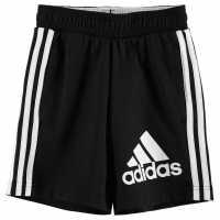 Adidas Момчешки Къси Гащи Bos Shorts Junior Boys Black/White Детски къси панталони