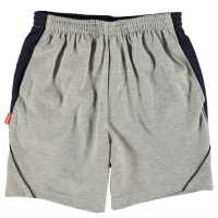 Slazenger Детски Шорти Jersey Shorts Junior Grey Marl Детски къси панталони