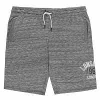 Lonsdale Мъжки Шорти Marl Shorts Mens Char Grey Мъжко облекло за едри хора