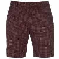 Soviet Dot Shorts Burgundy Мъжки панталони чино