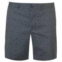 Original Penguin Къси Панталони Slim Stretch Spot Chino Shorts Sapphire 413 Мъжки панталони чино