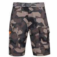 No Fear Belt Cargo Shorts  Мъжко облекло за едри хора
