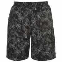 Hot Tuna Мъжки Бермуди Aloha Board Shorts Mens Black Мъжки къси панталони