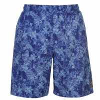 Hot Tuna Мъжки Бермуди Aloha Board Shorts Mens Bright Blue Мъжки къси панталони