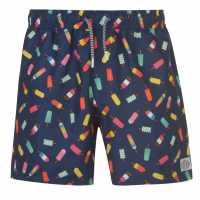 Hot Tuna Мъжки Шорти Fun Shorts Mens IceCreams Мъжки къси панталони