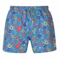 Hot Tuna Мъжки Шорти Fun Shorts Mens Rings Мъжки къси панталони
