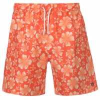 Hot Tuna Tuna Printed Sht Sn93 Orange Мъжки къси панталони