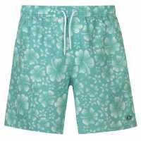 Hot Tuna Tuna Printed Sht Sn93 Mint/White Мъжки къси панталони