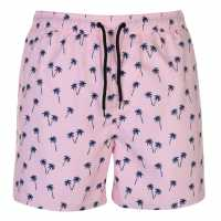 Hot Tuna Мъжки Бермуди Fun Board Shorts Mens AOP Palm Trees Мъжки къси панталони