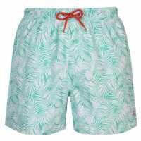 Hot Tuna Мъжки Шорти Oasis Shorts Mens Green/White Мъжки къси панталони