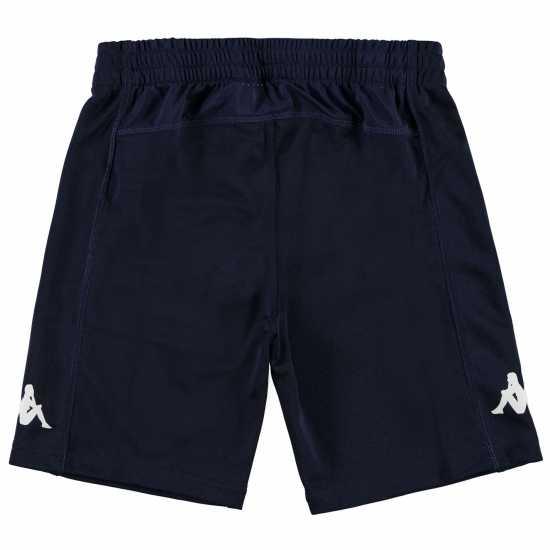 Kappa Момчешки Къси Гащи Train Bermuda Shorts Junior Boys Navy/White Детски къси панталони