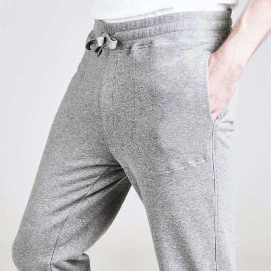 Henri Lloyd Tobin Cuffed Jogging Bottoms Silver Grey Мъжки меки спортни долнища