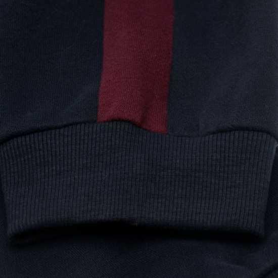 Soulcal Мъжко Долнище За Джогинг Block Colour Jogging Pants Mens Navy/Burgundy Мъжки меки спортни долнища