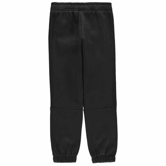Adidas Спортно Долнище Момчета 3 Stripe Sweat Pants Junior Boys Triple Black Детски полар
