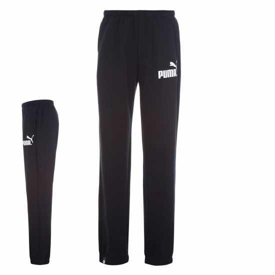 3b0c92c8e48 Puma Мъжко Спортно Долнище No 1 Logo Jog Pants Mens Black/White Мъжки меки  спортни