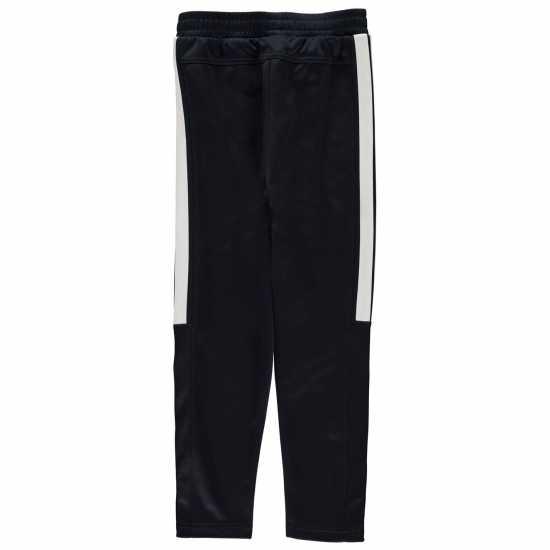 Lonsdale 2 Stripe Taped Pants Junior Boys Navy Детски долнища за бягане