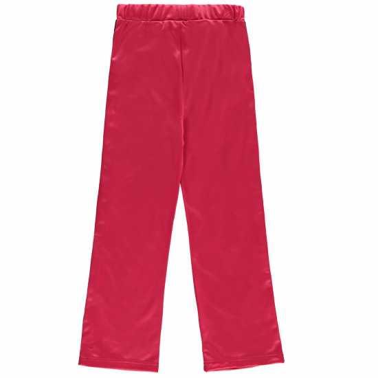 Lonsdale Спортно Долнище Момичета Track Pop Pants Junior Girls Pink Детски долнища за бягане