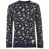 Oneill Мъжки Пуловер Fish And Chicks Sweater Mens  Мъжки полар