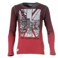 Pepe Jeans Shirt Elliot Jnr43 Bordeaux Детски горнища и пуловери