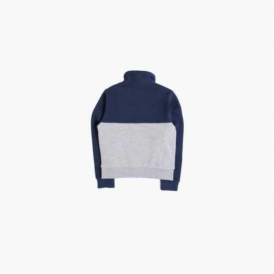 Adidas Linear Zip Hoodie Junior Girls HiRes Blue Детски суитчъри и блузи с качулки