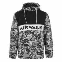Airwalk Мъжко Яке Overhead Jacket Mens Camo Мъжки полар