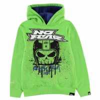 No Fear Детски Момчешки Суитшърт Oth Hoody Junior Boys Green Helmet Детски суитчъри и блузи с качулки