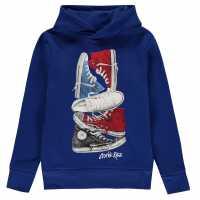 Converse Hoodie Junior Converse Blue Детски суитчъри и блузи с качулки