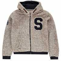 Soulcal Zip Snug Hoodie Junior Boys  Детски горнища и пуловери