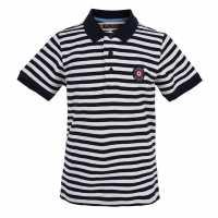 Ben Sherman Stripe Target Polo Navy Детски тениски тип поло