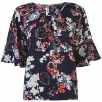 Nvme Blair Top Ladies Navy Дамски тениски и фланелки