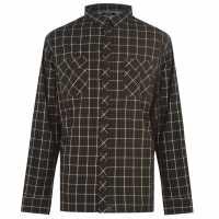 Firetrap Xl Sabotg Shrt93 Black/Grey Мъжки ризи