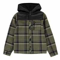 Firetrap Фланелена Риза Flannel Shirt Junior Boys  Детски ризи