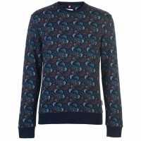 Soviet Paisley Crew Sweatshirt Multi Мъжки пуловери и жилетки